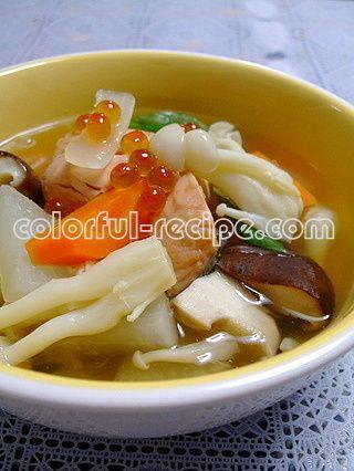 鮭の切り身で三平汁(北海道) by ヨアンさん | レシピブログ - 料理 ...