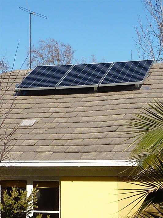 Panel Solar de Ecoenergías