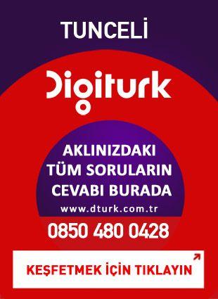 Digiturk Tunceli - Servis Satış Noktası - 0428 Tunceli