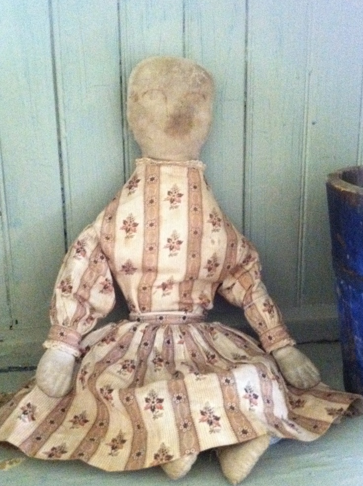 1840's - 1870's rag doll !   She is so wonderful!!!!  http://www.picturetrail.com/urbanhomeprimitives