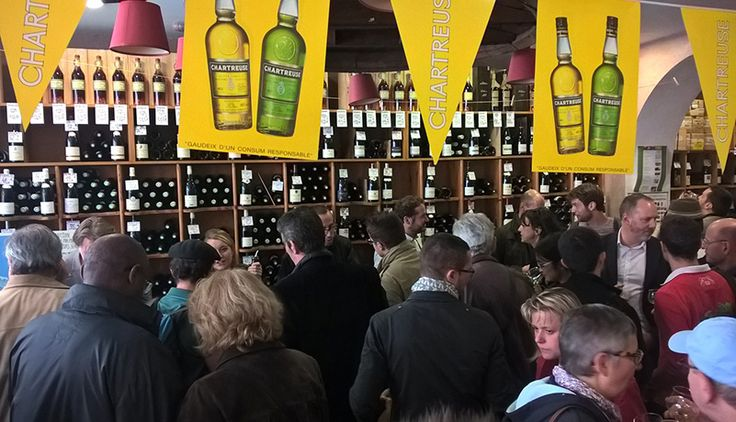 Une affluence très forte cette année pour la grande dégustation  #Chartreuse des caves Bossetti