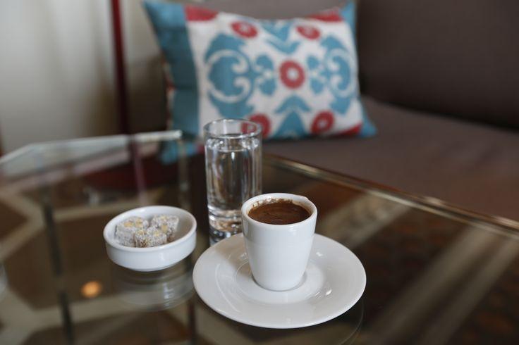 Yolunuz düşerse bir sabah kahvesine bekleriz. Herkese iyi haftalar!  We expect you to come by for a Turkish coffee. Happy week all!  #sheratonbursa #turkishcoffee #morningcoffee #happyweek #betterwhenshared #iyihaftalar #sabahkahvesi #türkkahvesi
