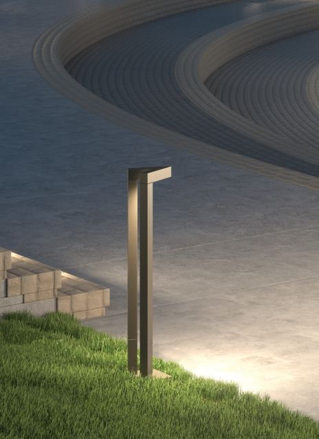 Vox Outdoor Bollard Details Tech Lighting Bollards In