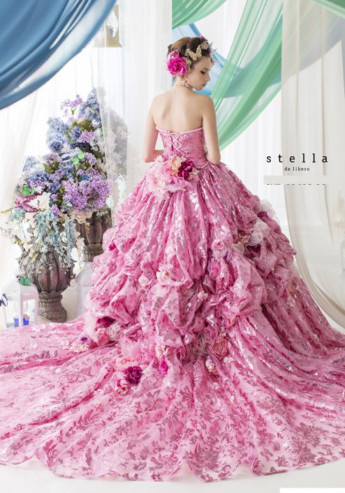 198 best Colorful Wedding Dress images on Pinterest   Colorful ...