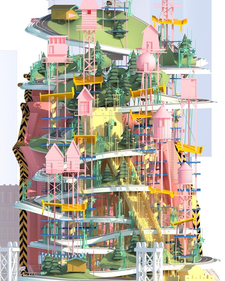 Life in Technicolor: 11 trippy visions of the future by student architects