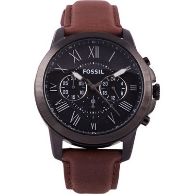 Buy Fossil FS4885 Brown Round Chronograph Watch by E TRADERS RETAIL, on Paytm, Price: Rs.9495