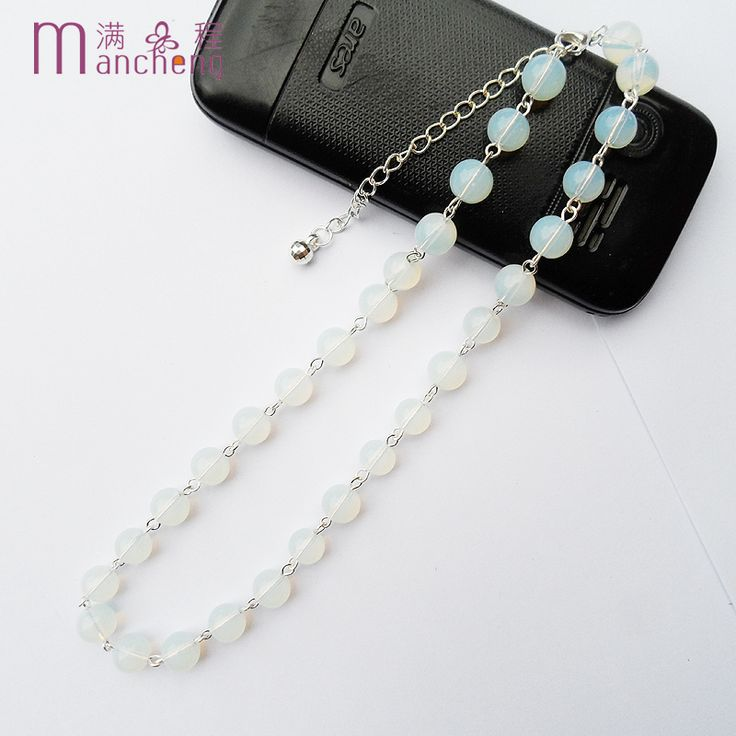 Cheap choker necklace, Buy Quality necklace wholesale directly from China opal necklace Suppliers: Good quality silver plated women opal necklace,Office / career(OL) opal beaded chokers necklace,Wholesale man opal necklace