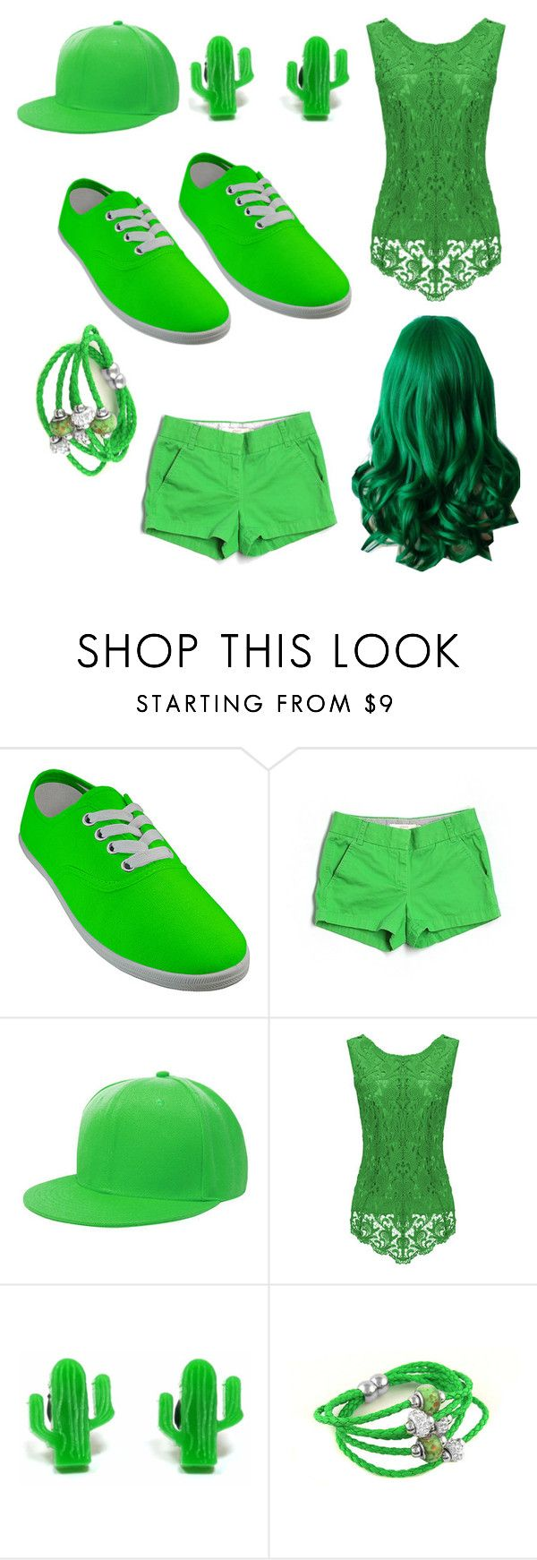 """""""18"""" by cristina-vanau on Polyvore featuring J.Crew and Finest Imaginary"""