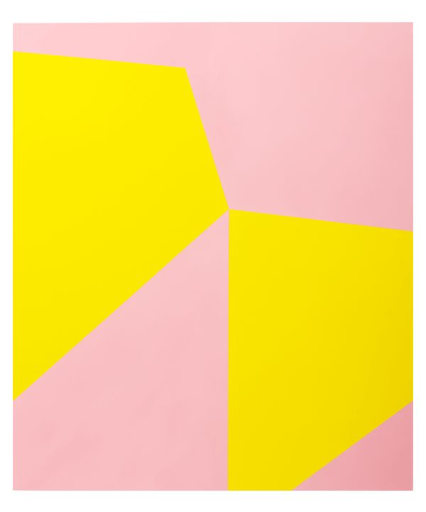 painting by Andreas Schimanski: Paintings Art, Andrea Paintings, Artists Based, Pink Yellow, Color Shooting, Color Combos, Andrea Schimanski, Art Inspo, Neon Yellow