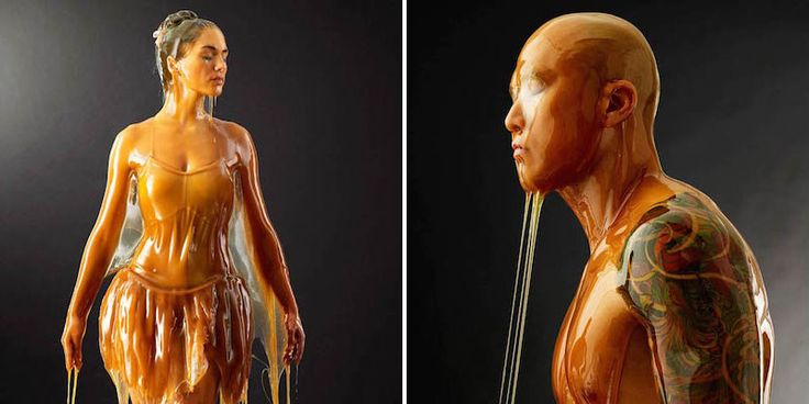Photographer Dumps Honey On Models And It Looks Ridiculously Cool