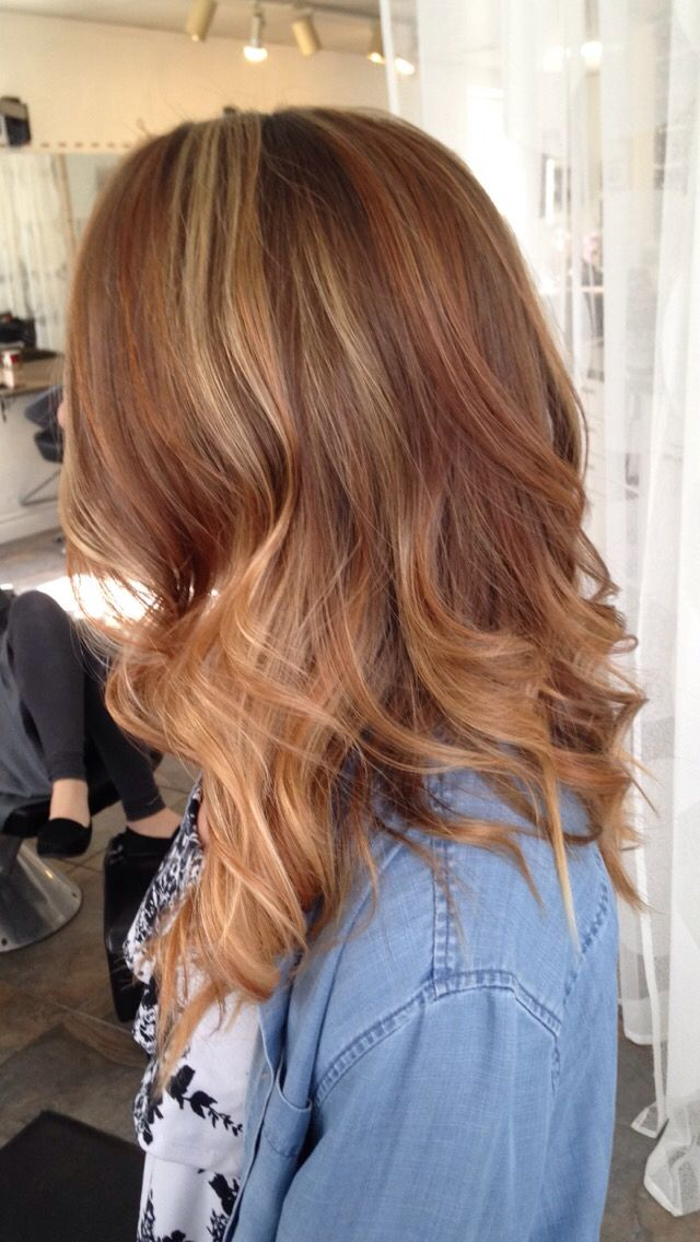 Auburn Blonde Hair Dos Pinterest Auburn Blondes And