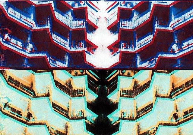 Revelado con Goma Bicromatada Arquitectura Caleidoscópica 2010
