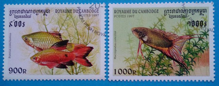 Issued stamps in 1997, Cambodia