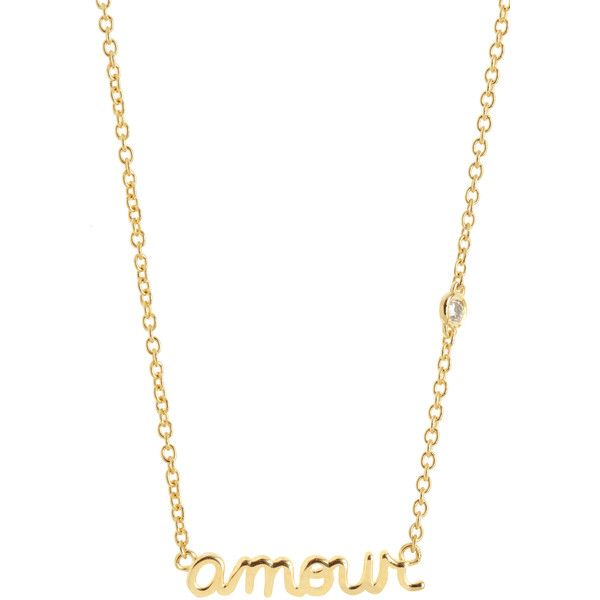 SHY BY SYDNEY EVAN Gold Amour Necklace ($125) ❤ liked on Polyvore featuring jewelry, necklaces, gold, charm necklace, 14 karat gold charms, 14 karat gold necklace, gold chain pendant and pendant necklace