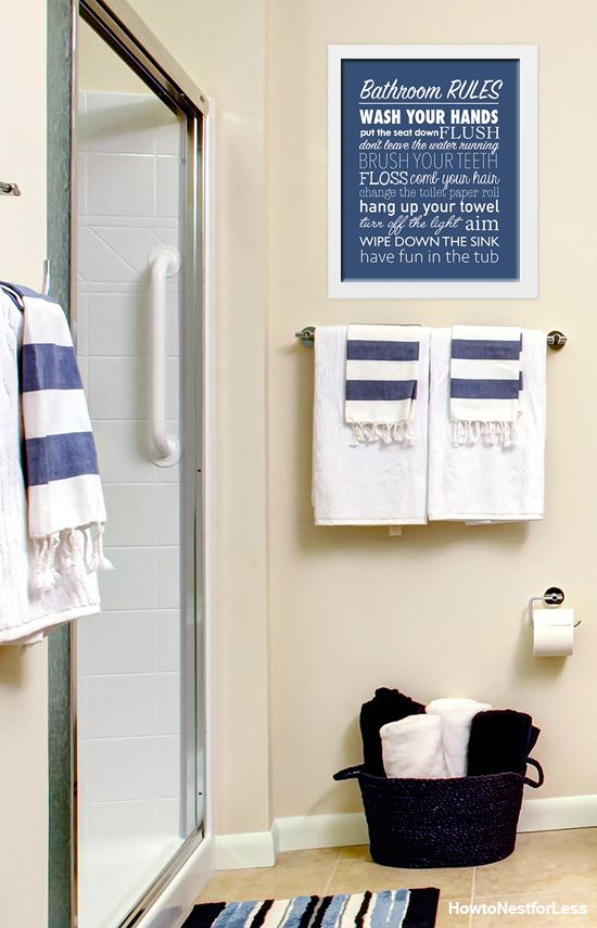 17 best ideas about bathroom rules on pinterest restroom for 7x11 bathroom layouts