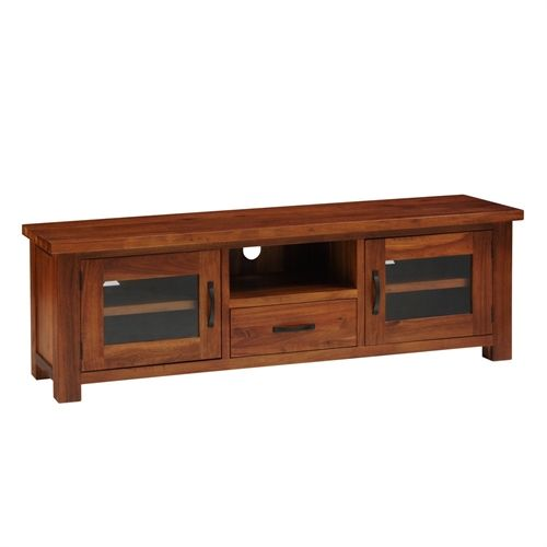 """Armington Acacia Large TV Unit with 2 Doors - up to 70"""" (A215) with Free Delivery   The Cotswold Company"""