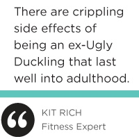 Article that hits home on the subject of the ugly duckling syndrome. From ugly ducklings to swans! Hahaha, that's usually the way it goes.. who would've ever thought I'd be scouted for modeling and so much more. Beautiful, flawless skin, out of the ordinary, positive & strong mindset, fit, and proud. #unique#beauty look in the mirror (very closely) and listen to yourself speak about other people before you judge me.. Lol please