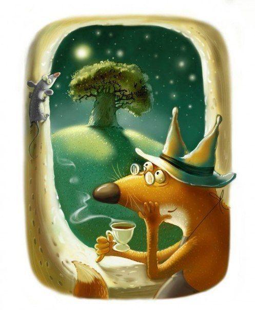 Добрые иллюстрации Ирины Августинович