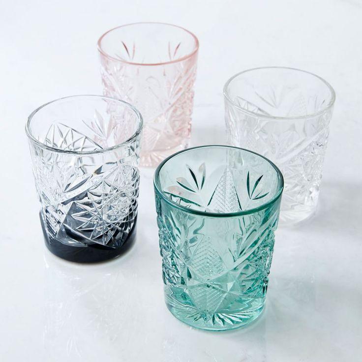 Decorated Hobstar Glassware