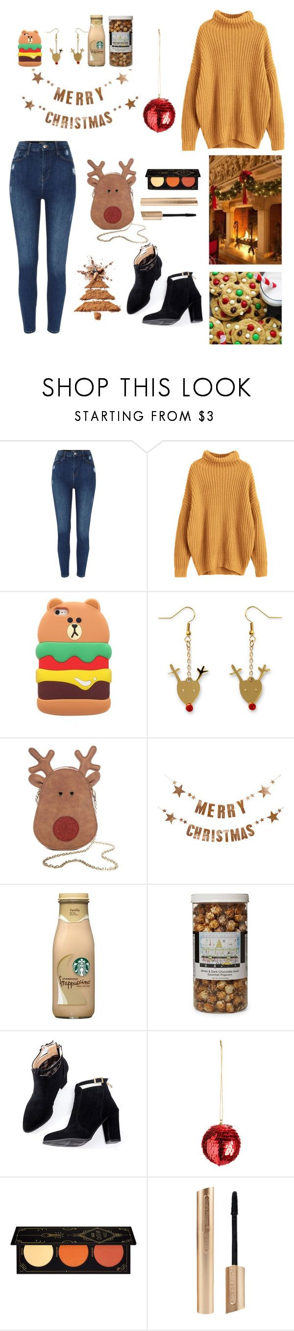 """Christmas Day"" by valley-g ❤ liked on Polyvore featuring True Craft, Bloomingville, The Hampton Popcorn Company and ZOEVA"
