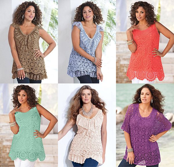 102 Best Plus Size Crochet Patterns Images On Pinterest Crochet