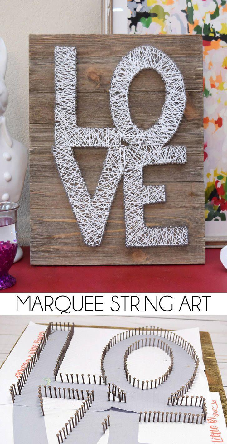 660 best Art: Threaded L❤️VE images on Pinterest   String art ...