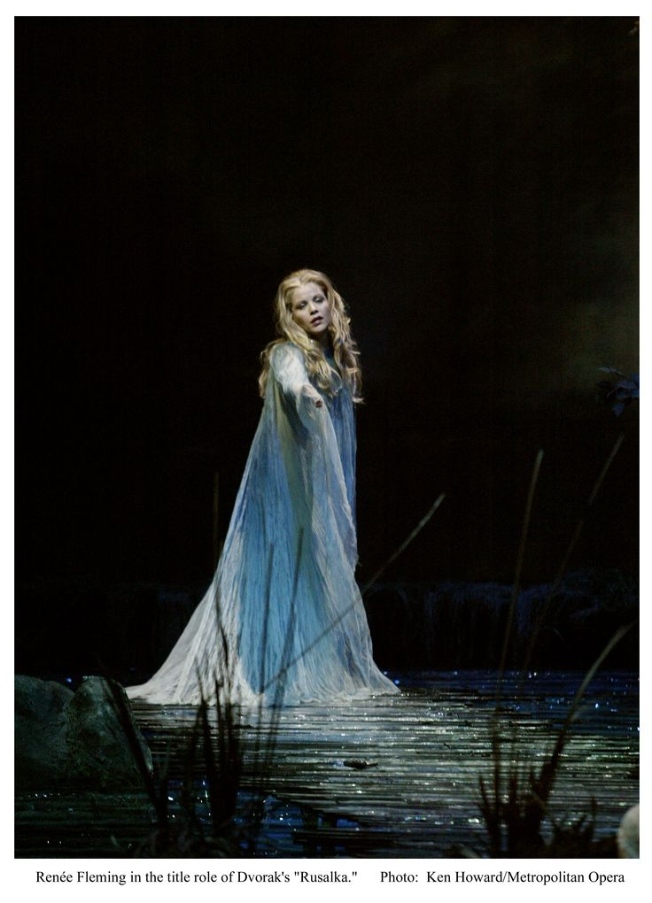 Rusalka (by Dvořák). Excellent opera.
