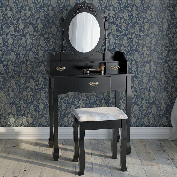 oltre 25 fantastiche idee su sgabello per toeletta su pinterest ... - Toilette Provenzale Con Specchio E Sgabello