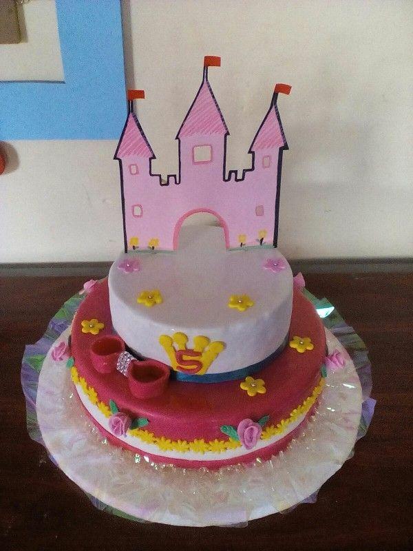 Torta princesa castillo