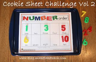 Classroom Freebies Too: Cookie Sheet Challenge Volume 2