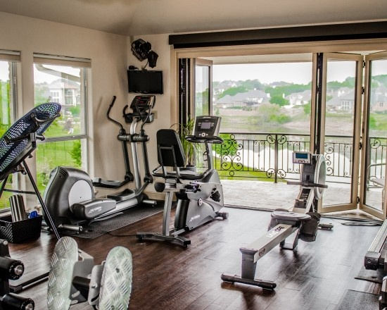 Best gym work out rooms images on pinterest home gyms