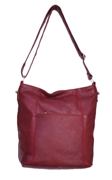 Lifestyle (Burgundy) Handmade Genuine Leather Large Adjustable Sling Bag R 999. Handcrafted in Cape Town, South Africa. Code: F2 Burgundy. See online shopping for availability. Shop online https://www.thewhatnotshoes.co.za Free delivery within South Africa.
