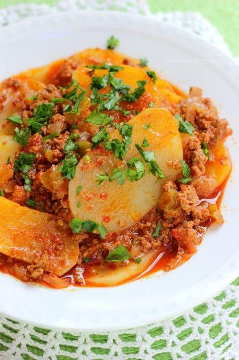 Patates Oturtma - Potato Stove Top Casserole