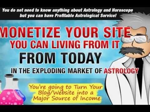 White Label Horoscope - Blog/website Monetizer