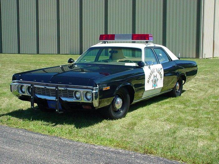 CHP Dodge Police Car. More