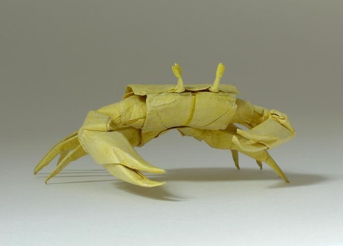 Origami King Crab