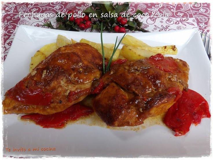 Pechugas de pollo al horno en salsa de coca cola on - Pechugas de pollo al horno ...