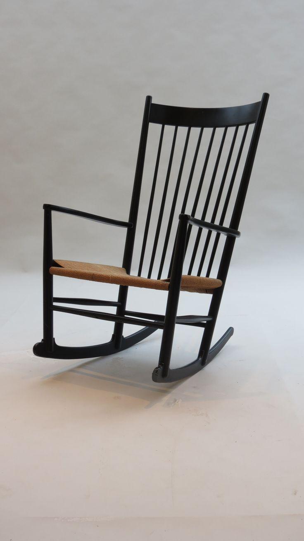 Vintage Hans J Wegner Rocking Chair J16 Danish http://www ...