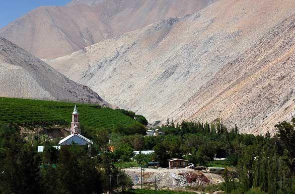 Church in Valle del Elqui