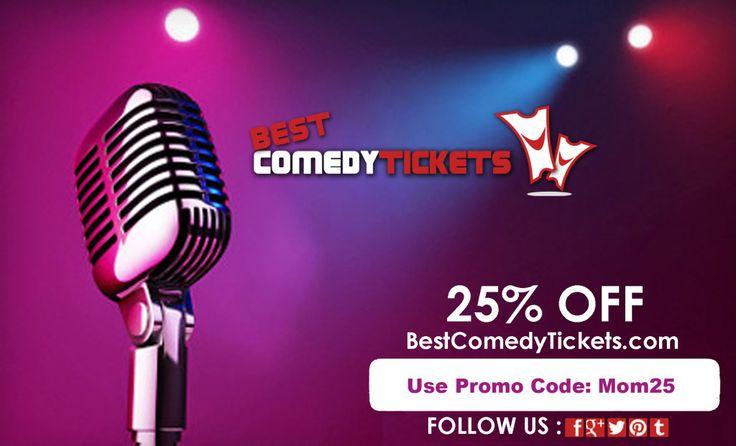 Discount Comedy Tickets - http://www.dealiciousmom.com/discount-comedy-tickets/
