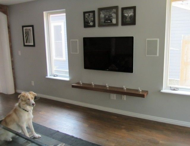 Led Tv Wall Mount With Shelves