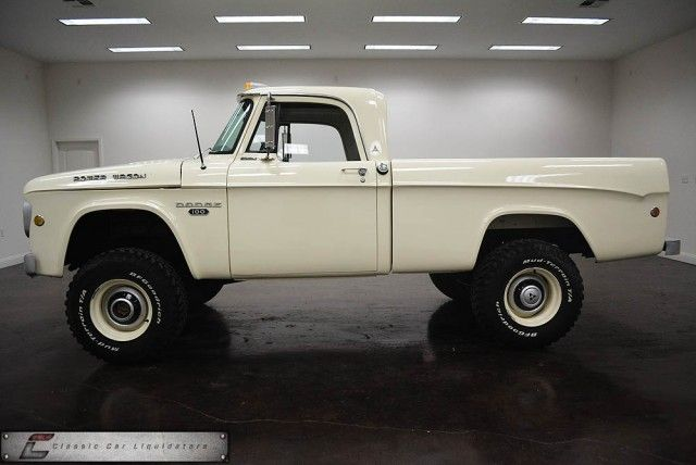 1968 Dodge SWB Power Wagon 4X4 Cummins Diesel - Classic Car Liquidators