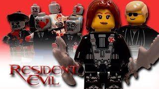 Смотреть онлайн видео LEGO Resident Evil: The Movie