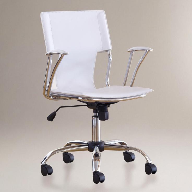 Ethan fice Chair White