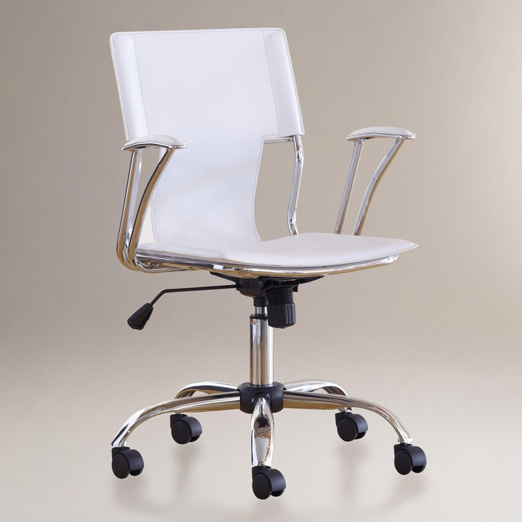 Ethan Office Chair White World Market 69 99