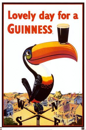 Since the 30's the toucan played a pivotal role in the advertising campaign for Guinness and things only got better with the introduction of motion picture advertisements, allowing the guys behind Guinness to push their imagination further than ever before.