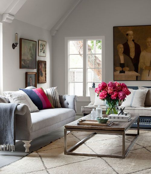 We love the old-meets-new style of Corbin Bernsen's California Home  — Country Living
