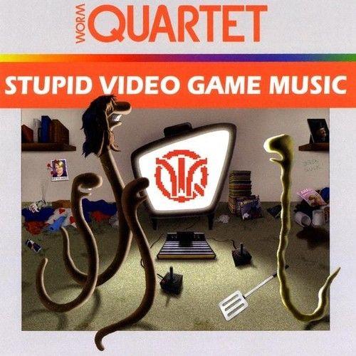 [Worm Quartet] Stupid Video Game Music Brand New DVD