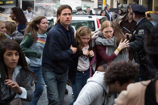 'World War Z' quickly reaches #zombie overload
