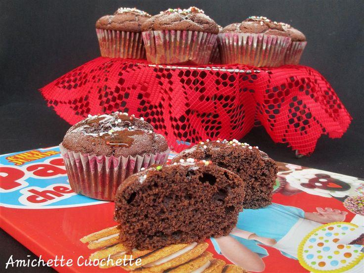 Muffin con farina di mandorle e cacao | Amichette Cuochette